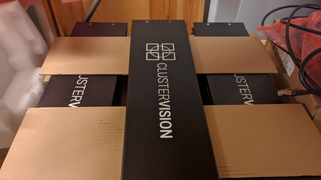Clustervision hardware